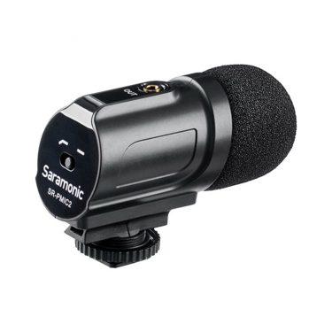 میکروفن دوربین Saramonic SR-PMIC2،مدیارسان،تجهیزات صدا،تجهیزات فیلمبرداری،تجهیزات صدابرداری،سارامونیک،میکروفن،میکروفن موبایل،خرید میکروفن،میکروفن یقه ای،میکروفن سارامونیک،میکروفن دوربین،میکروفن داینامیک،میرکوفن لپ تاب