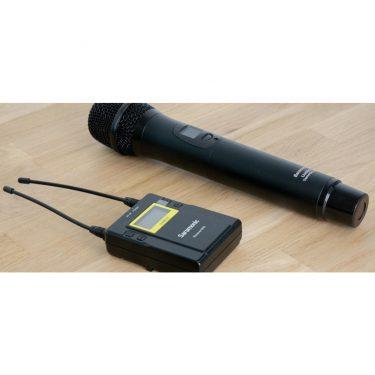میکروفن بیسیم (Saramonic UwMic9 (HU9+RX9،مدیارسان،تجهیزات صدا،تجهیزات فیلمبرداری،تجهیزات صدابرداری،سارامونیک،میکروفن،میکروفن موبایل،خرید میکروفن،میکروفن یقه ای،میکروفن سارامونیک،میکروفن دوربین،میکروفن داینامیک،میرکوفن لپ تاب،میکروفن بیسیم،میکروفن یقه ای بیسیم