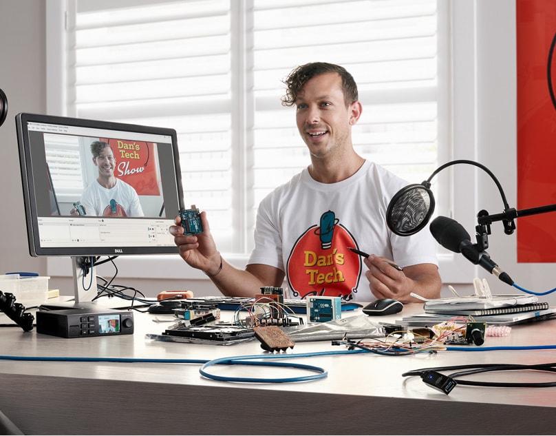 معرفی سیستم پخش زنده اینترنتی Blackmagic Web Presenter