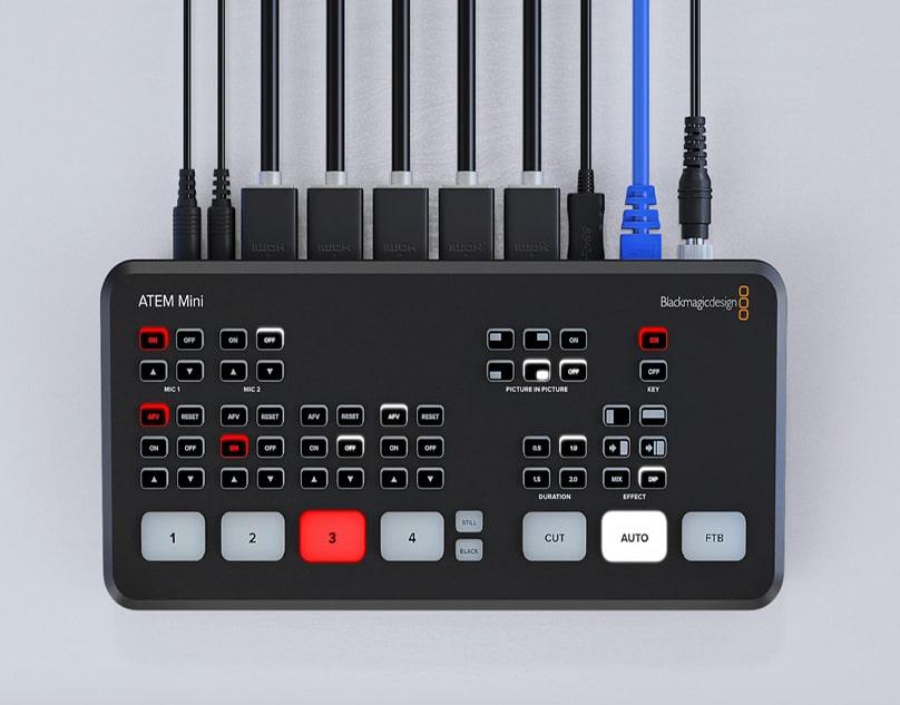 معرفی میکسر جدید بلک مجیک، Blackmagic ATEM Mini.