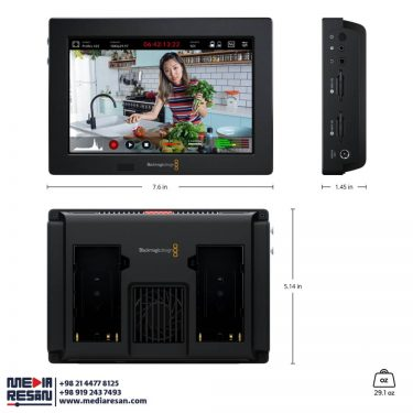 """مانیتور دوربین """"video assist 3G 7"""
