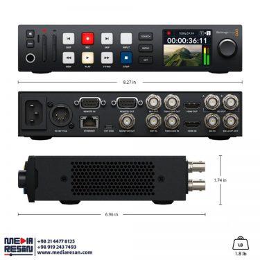 رکوردر تصویر HyperDeck Studio HD Plus